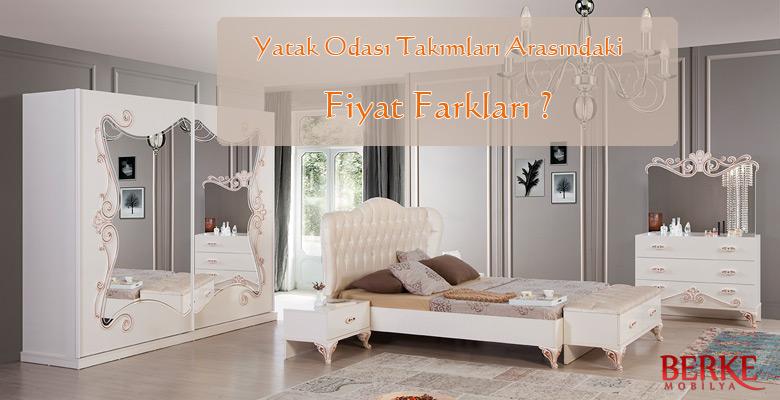 Yatak Odası Arasındaki Fiyat Farkları