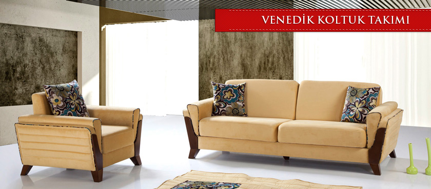 Venedik yataklı koltuk takımı
