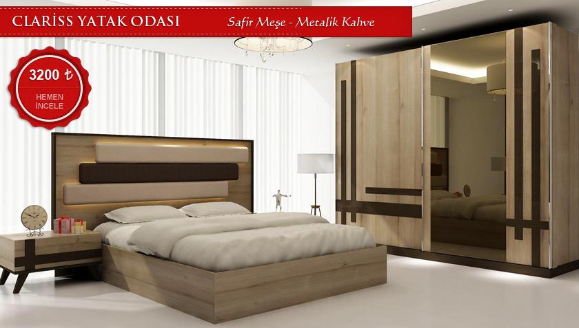 clariss yatak odası takımı