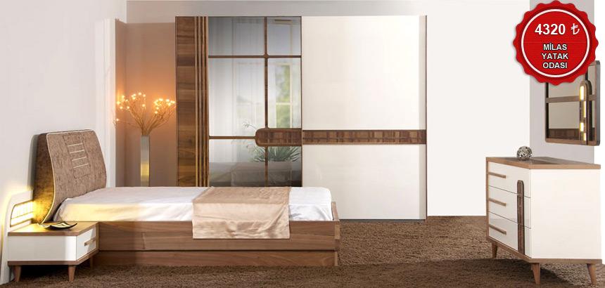 Milas Yatak Odası Takımı
