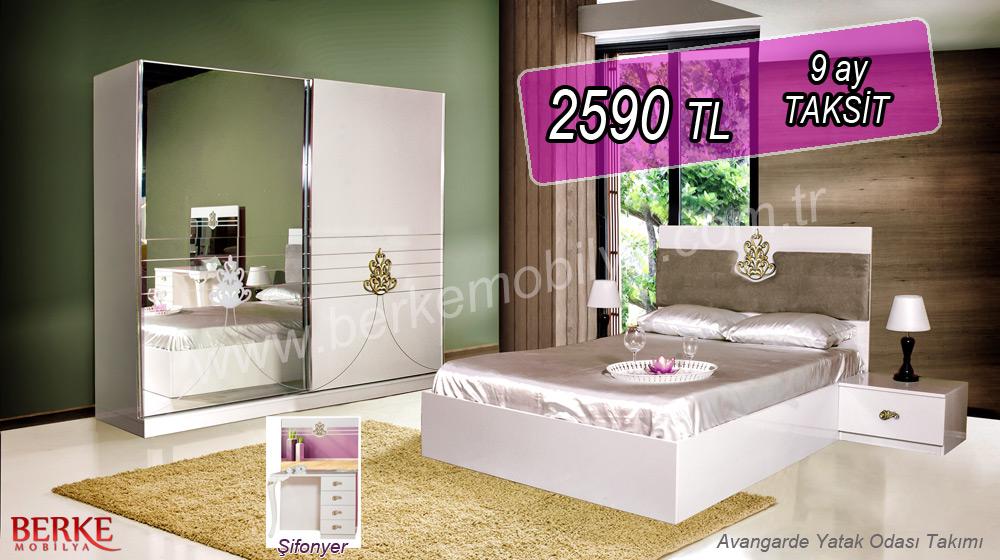 Manolya Avangarde Yatak Odası Takımı